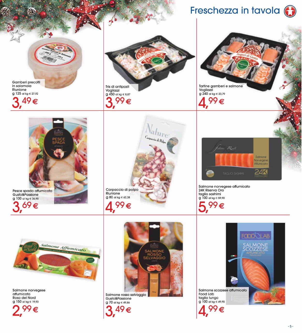 Volantino Il volantino natalizio di Sigma - Offerte 19/12-01/01/2020 (Pagina 5)
