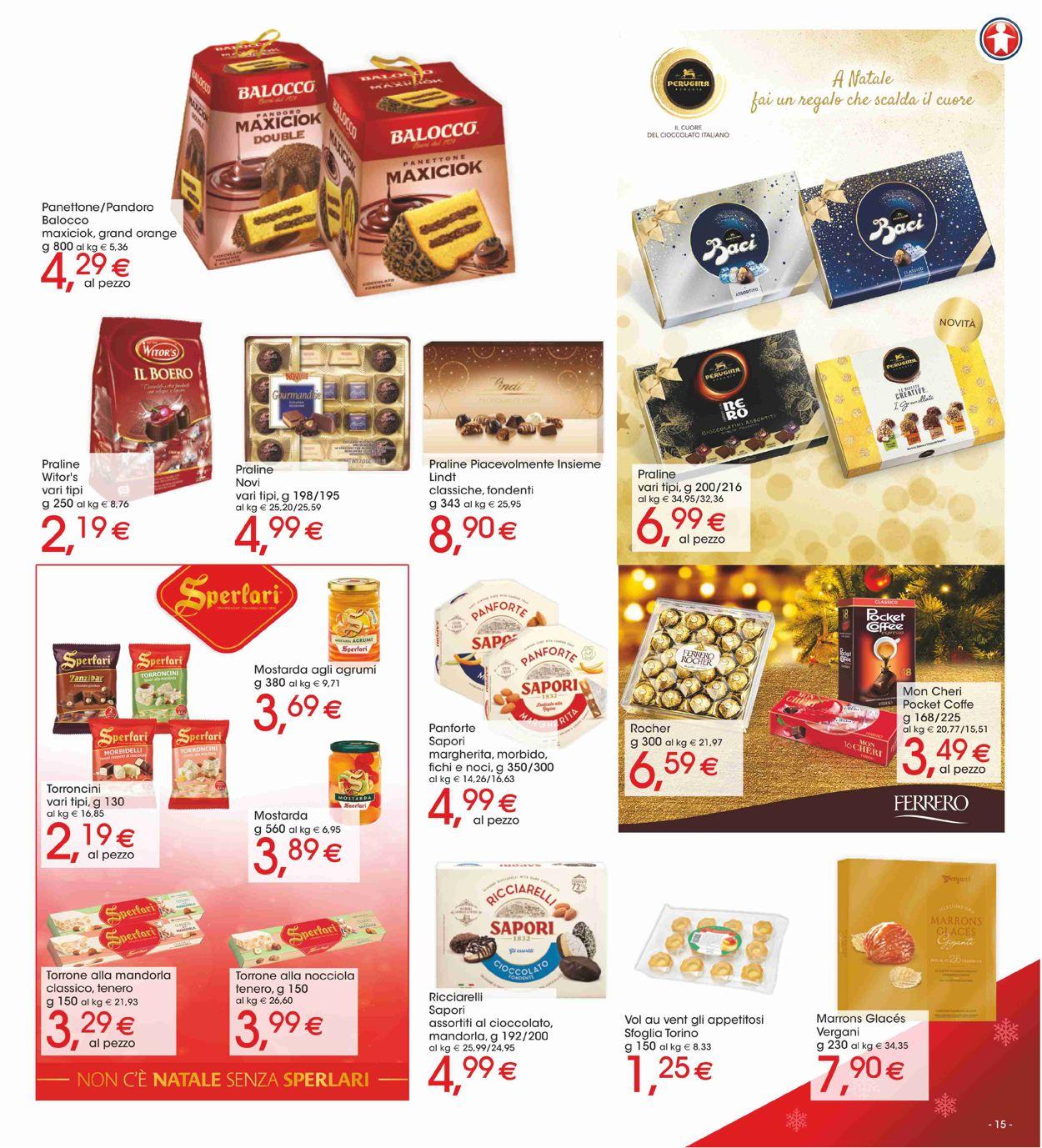 Volantino Il volantino natalizio di Sigma - Offerte 19/12-01/01/2020 (Pagina 15)