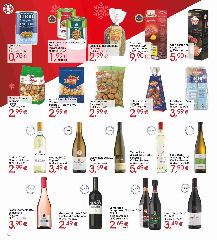 Volantino Il volantino natalizio di Sigma - Offerte 19/12-01/01/2020 (Pagina 16)