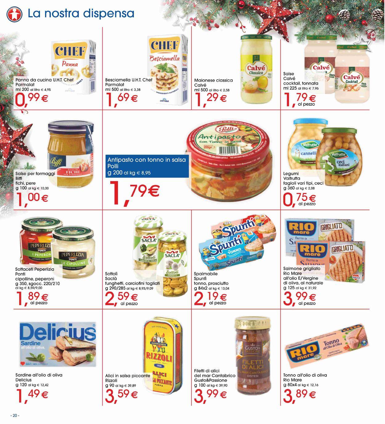 Volantino Il volantino natalizio di Sigma - Offerte 19/12-01/01/2020 (Pagina 20)
