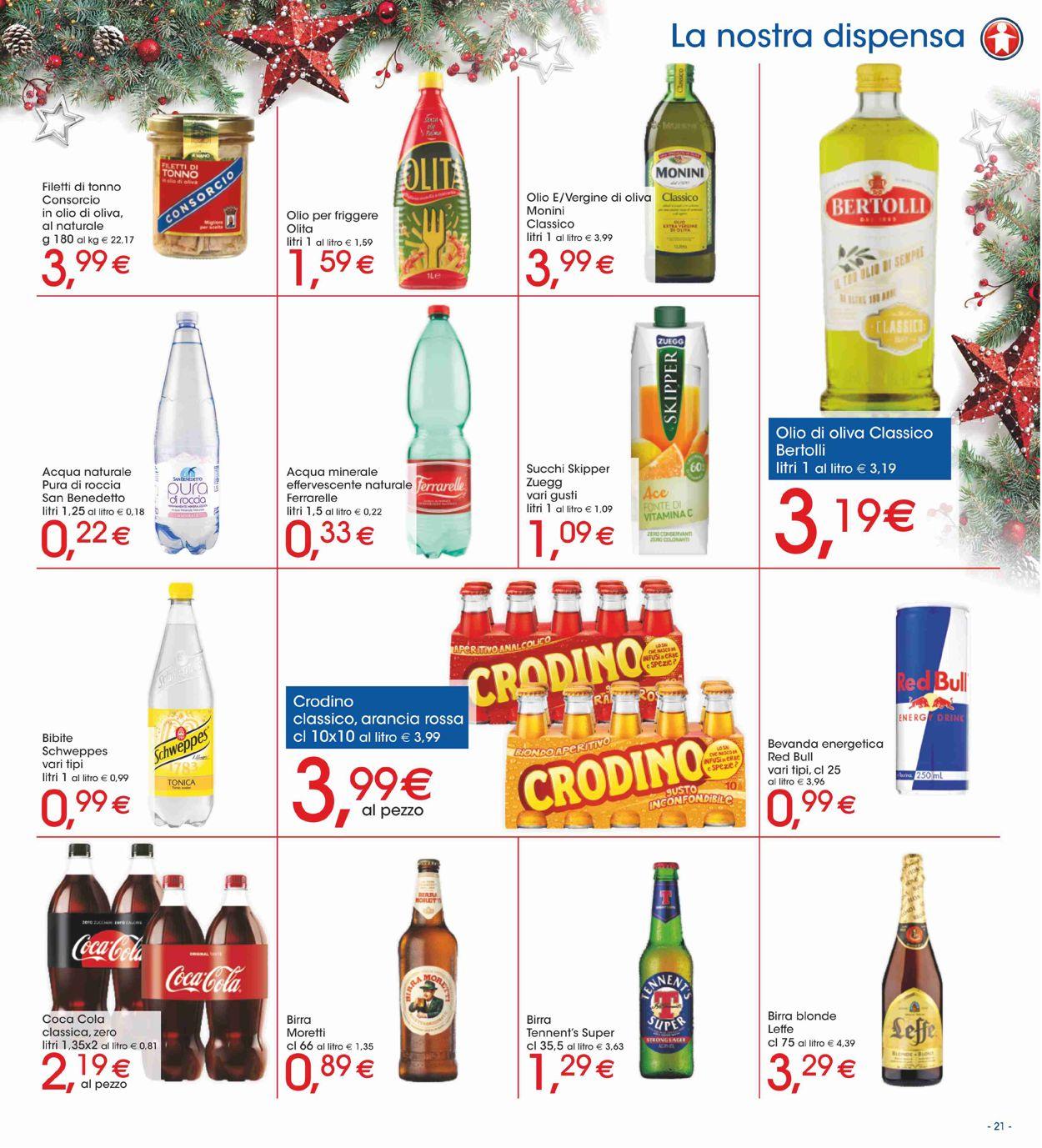 Volantino Il volantino natalizio di Sigma - Offerte 19/12-01/01/2020 (Pagina 21)