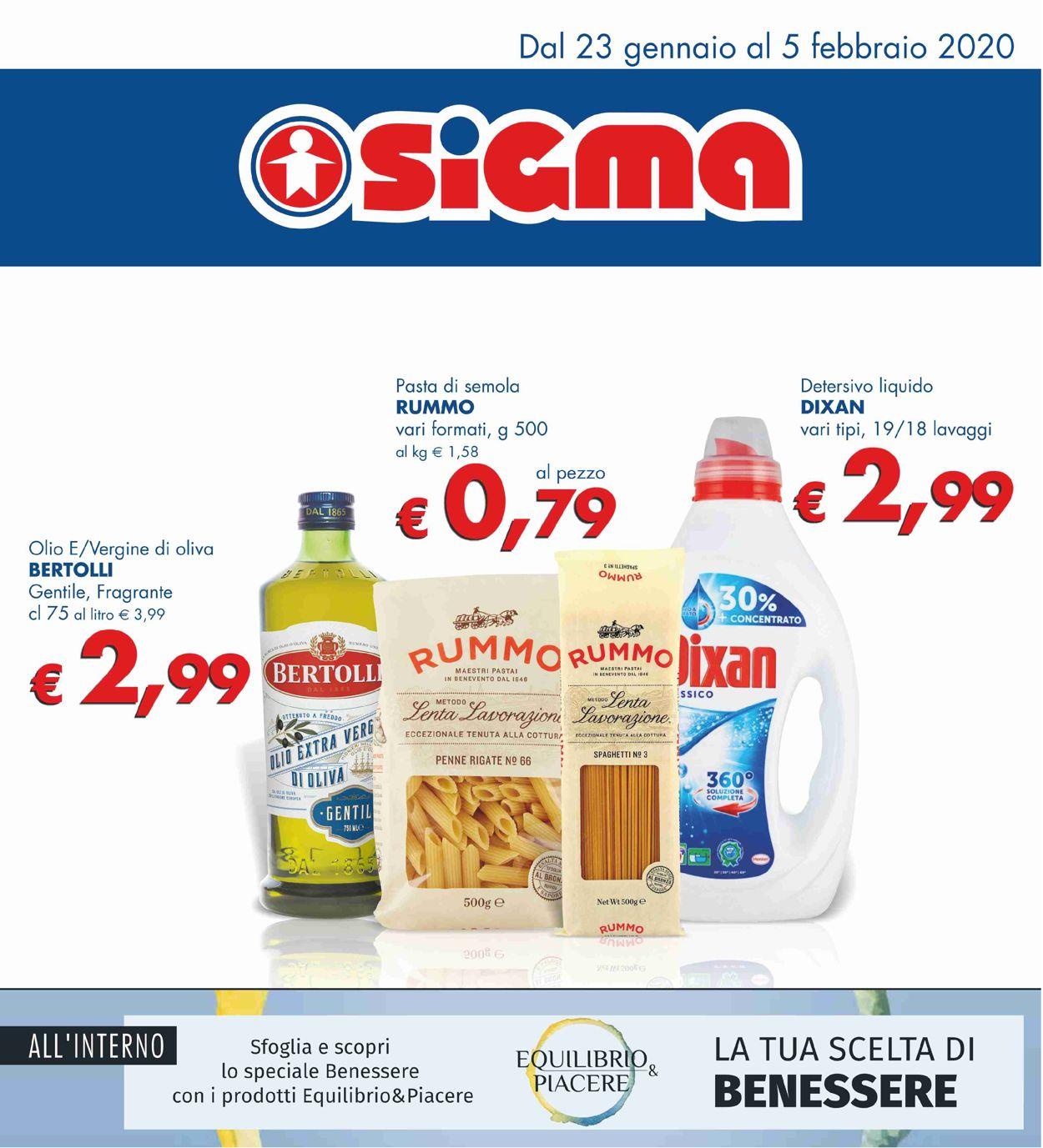 Volantino Sigma - Offerte 23/01-05/02/2020