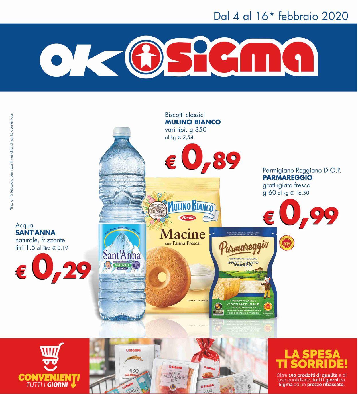 Volantino Sigma - Offerte 04/02-16/02/2020