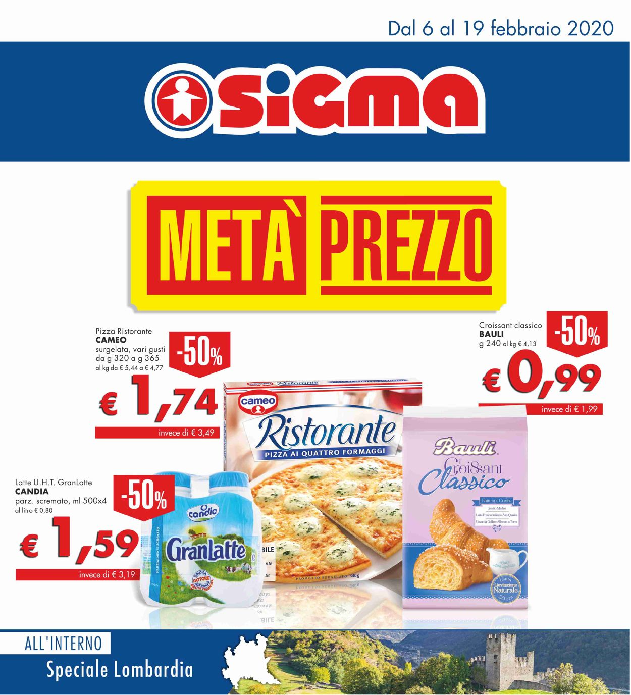 Volantino Sigma - Offerte 06/02-19/02/2020