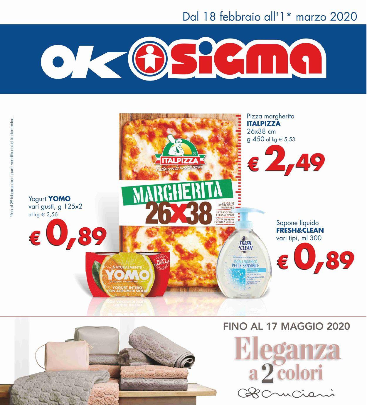 Volantino Sigma - Offerte 18/02-01/03/2020