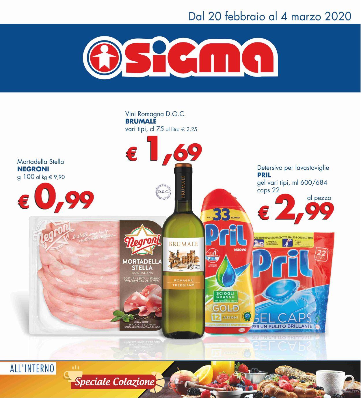 Volantino Sigma - Offerte 20/02-04/03/2020