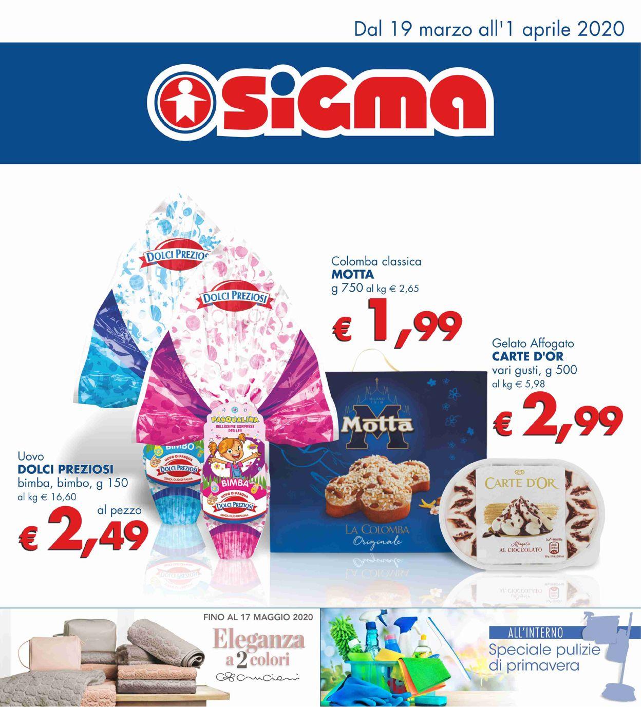 Volantino Sigma - Offerte 19/03-01/04/2020