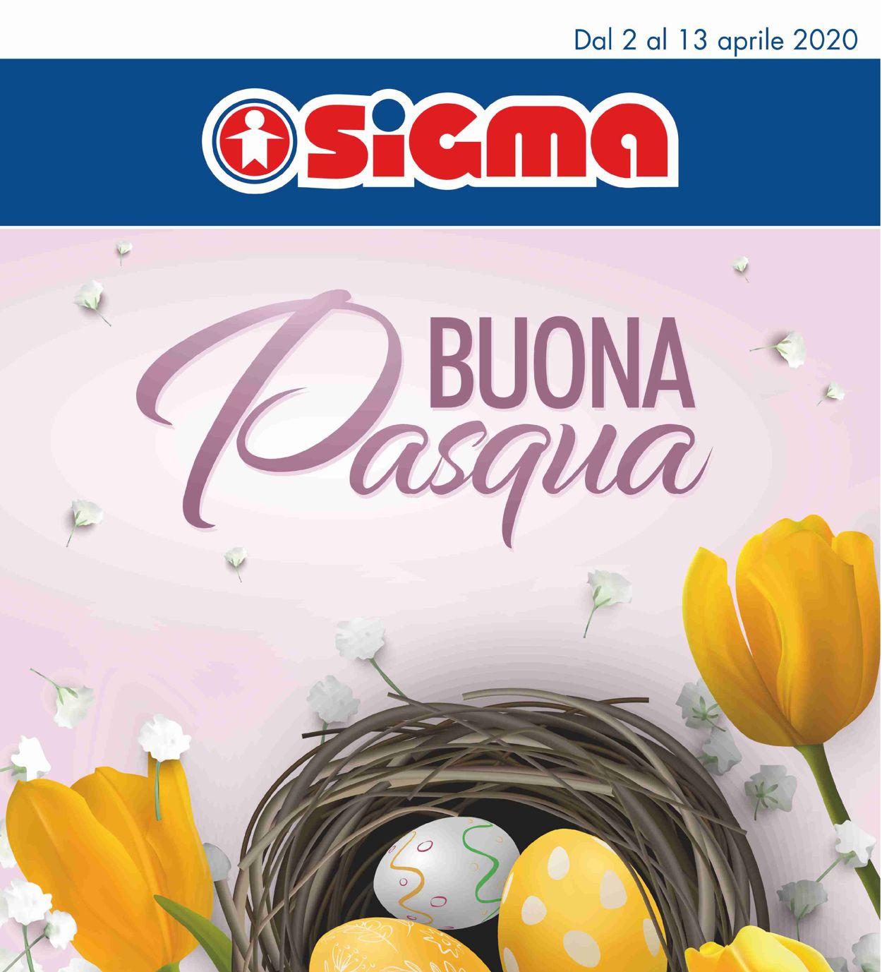 Volantino Sigma - Offerte 02/04-15/04/2020