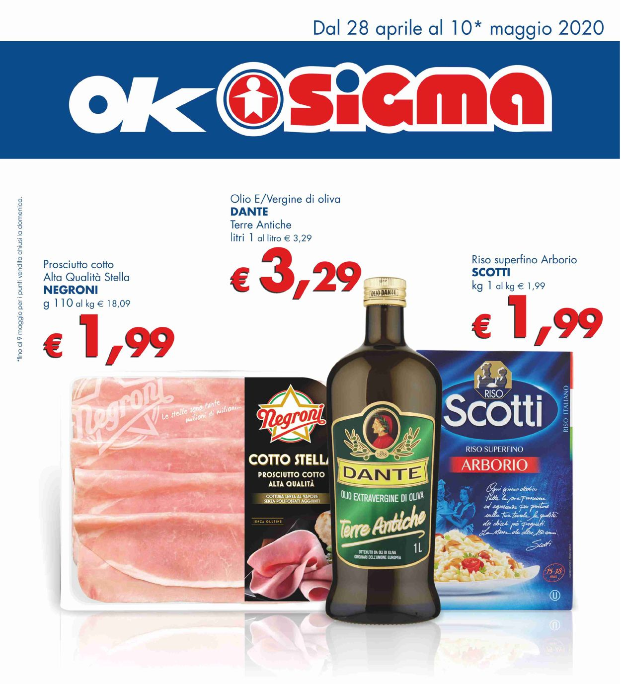 Volantino Sigma - Offerte 28/04-10/05/2020