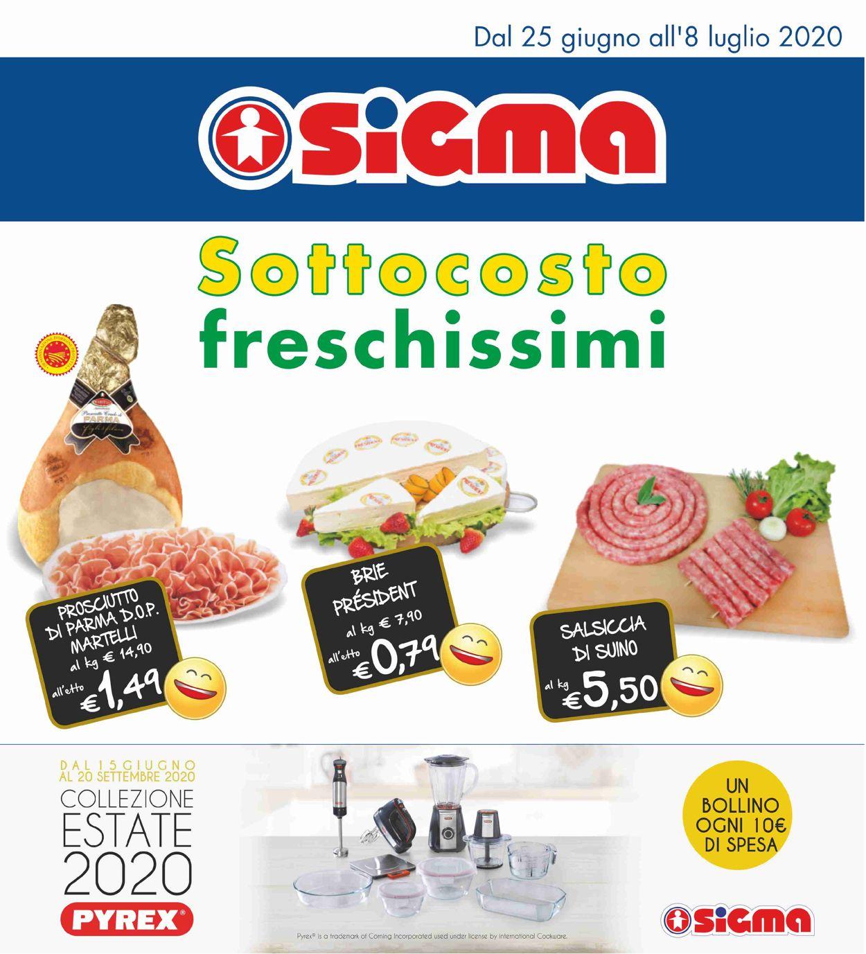 Volantino Sigma - Offerte 25/06-08/07/2020