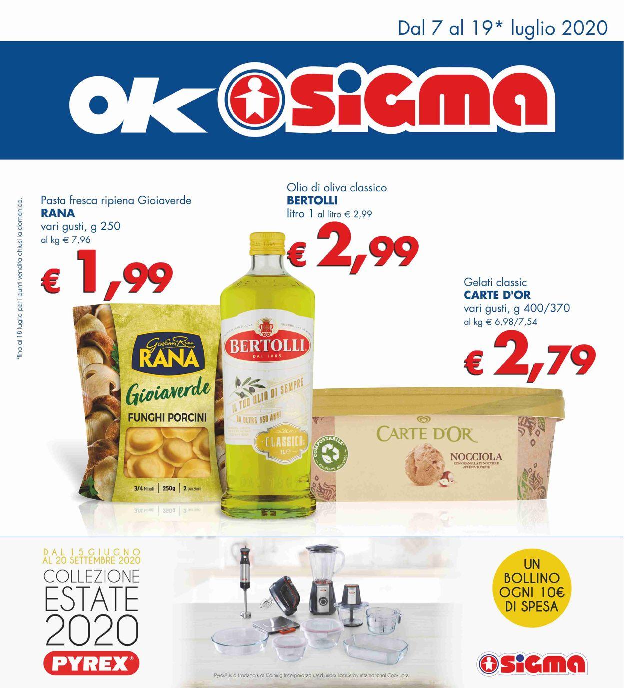 Volantino Sigma - Offerte 07/07-19/07/2020