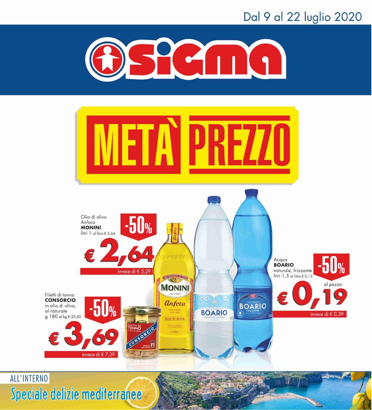 Volantino Sigma - Offerte 09/07-22/07/2020
