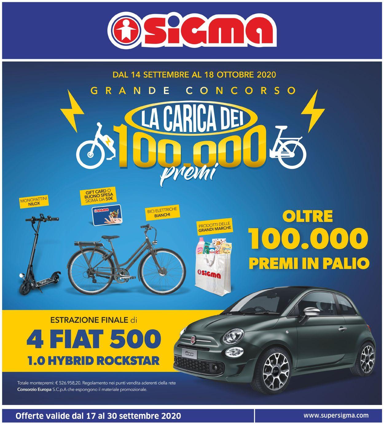 Volantino Sigma - Offerte 17/09-30/09/2020