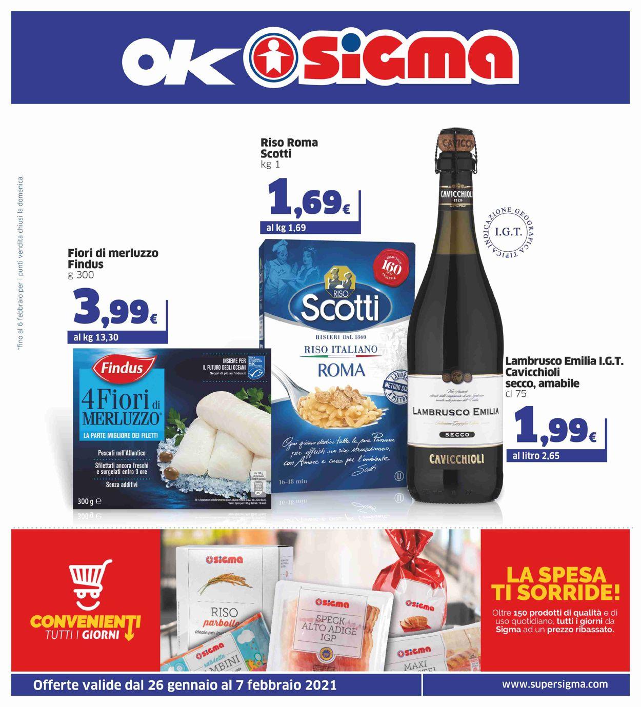 Volantino Sigma - Offerte 26/01-07/02/2021