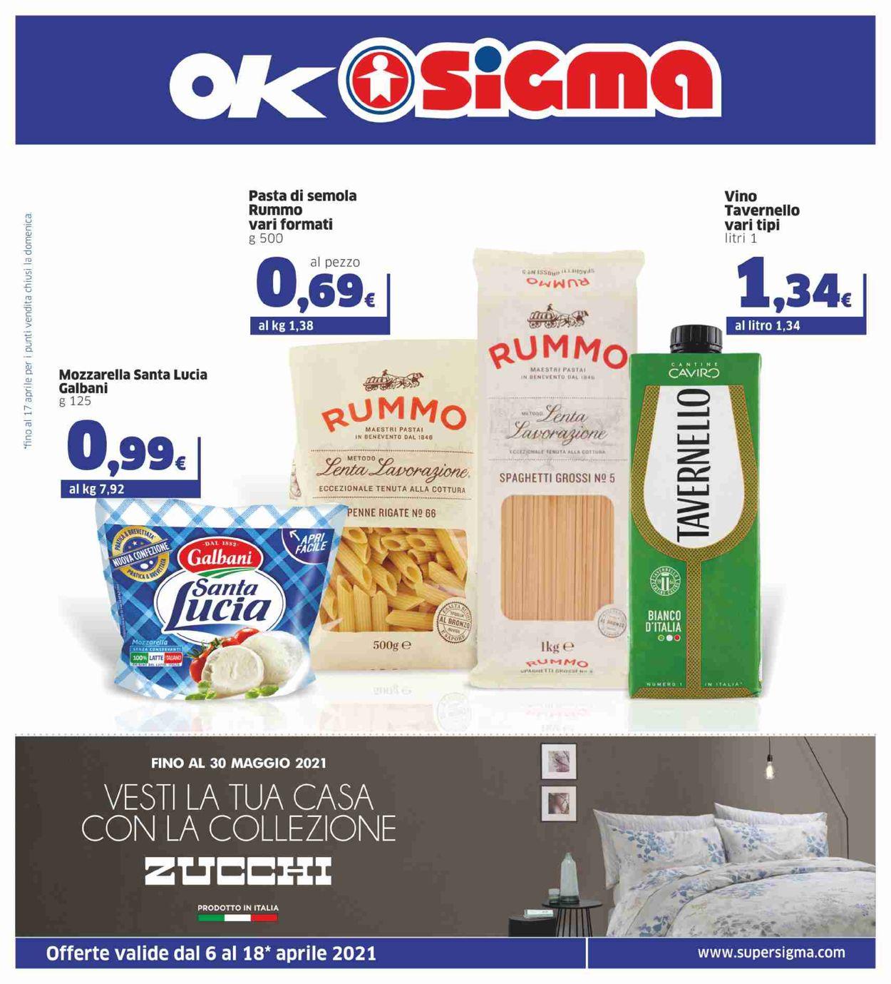 Volantino Sigma - Offerte 06/04-18/04/2021