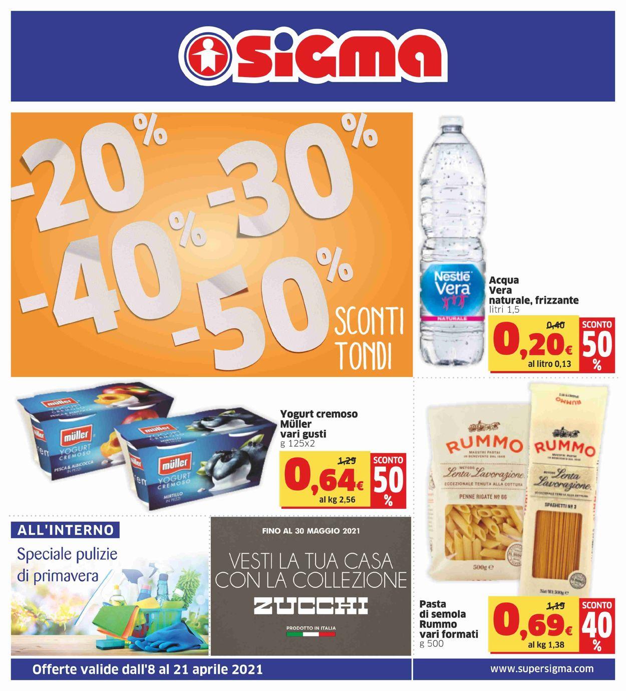 Volantino Sigma - Offerte 08/04-21/04/2021