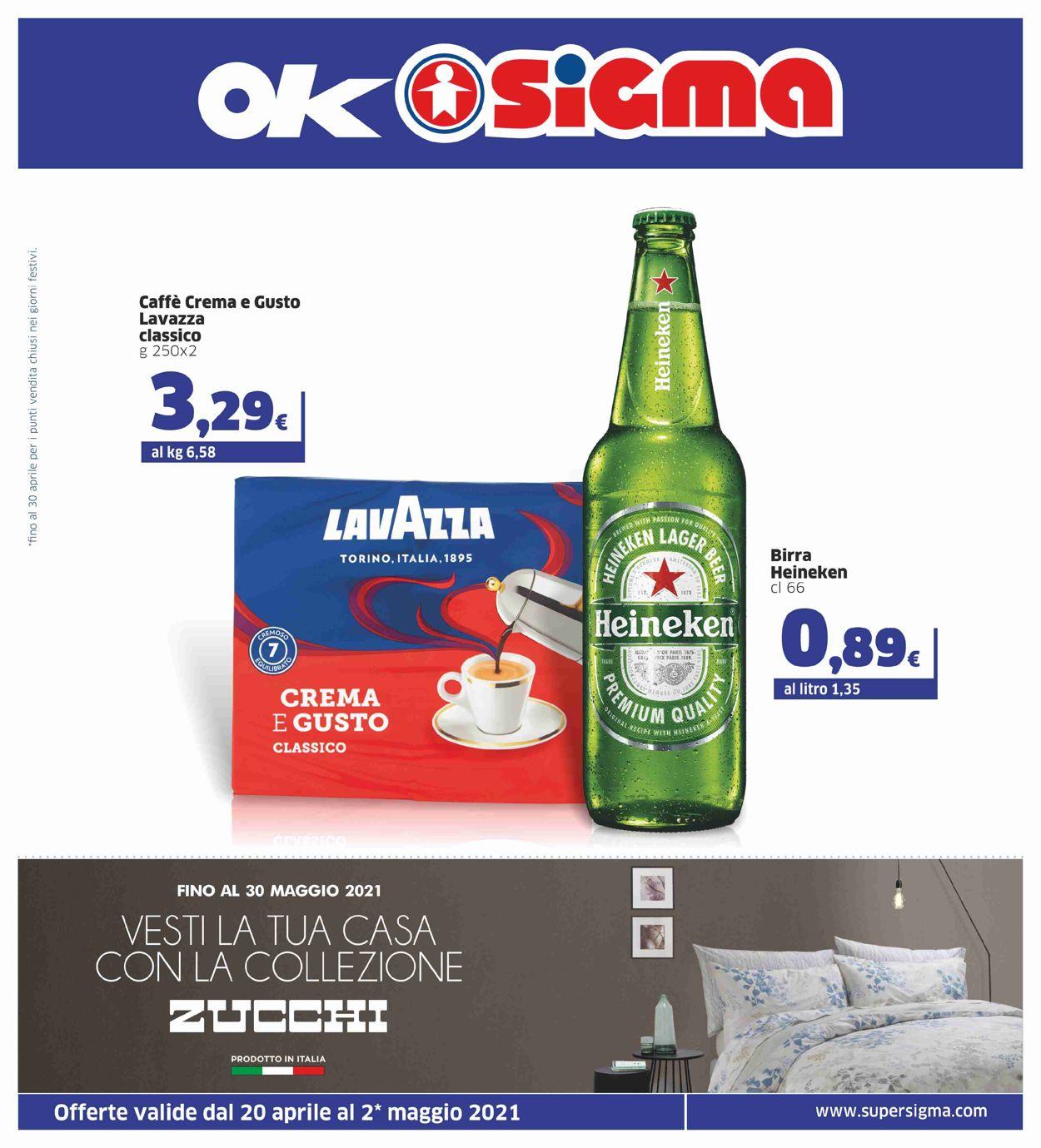 Volantino Sigma - Offerte 20/04-02/05/2021