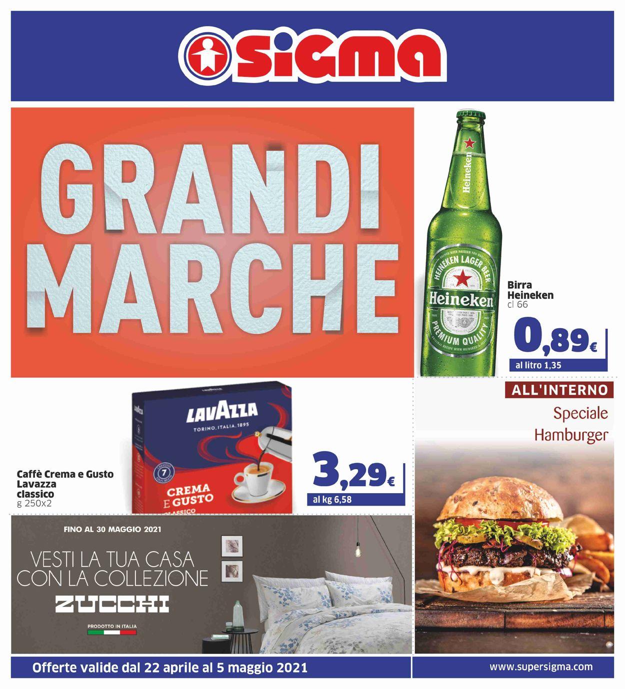Volantino Sigma - Offerte 22/04-05/05/2021