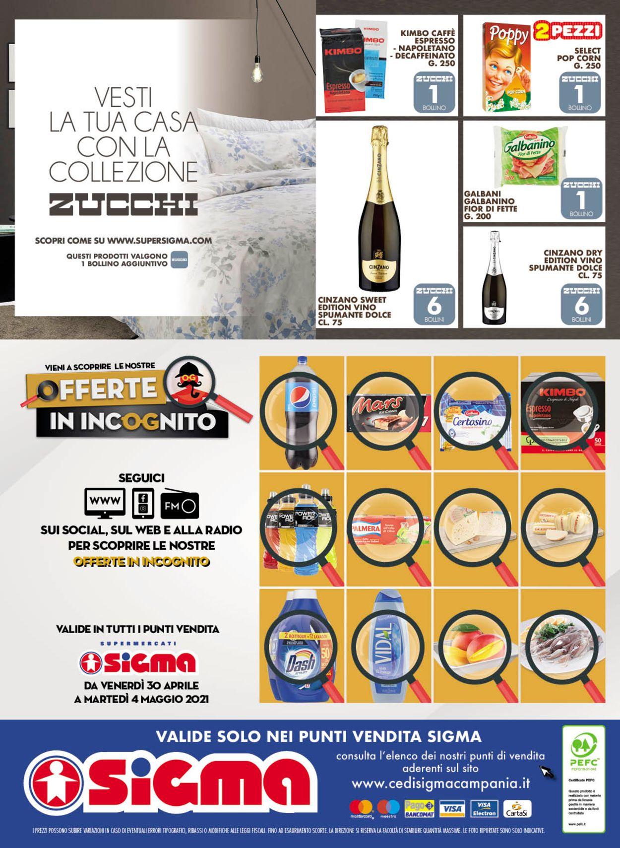 Volantino Sigma - Offerte 21/04-04/05/2021 (Pagina 24)