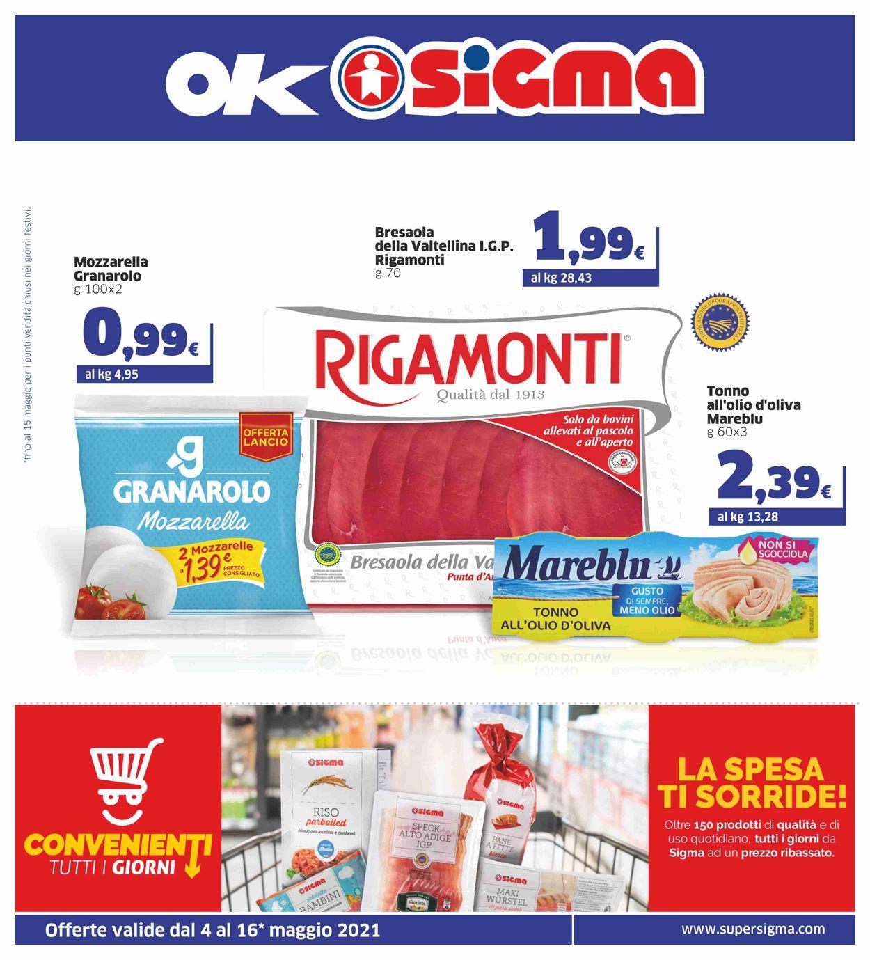 Volantino Sigma - Offerte 04/05-16/05/2021