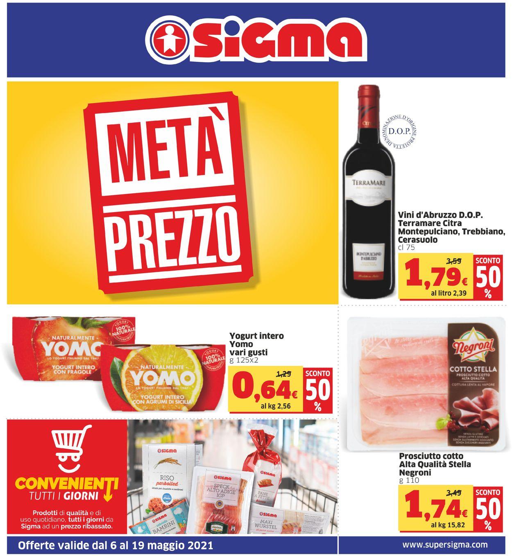 Volantino Sigma - Offerte 06/05-19/05/2021