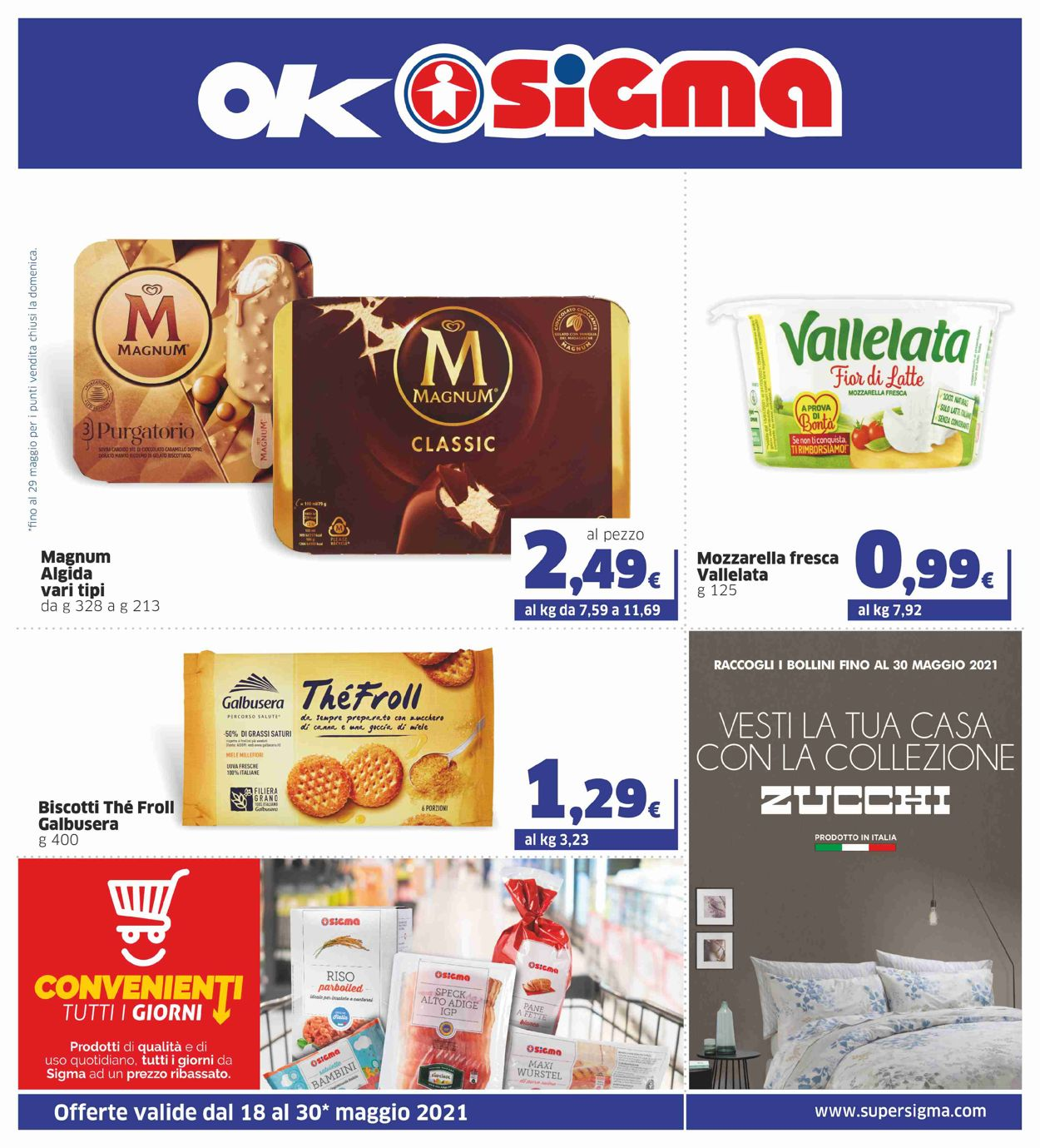 Volantino Sigma - Offerte 18/05-30/05/2021