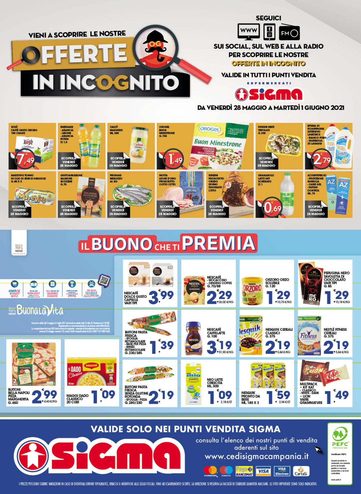 Volantino Sigma - Offerte 19/05-01/06/2021 (Pagina 24)