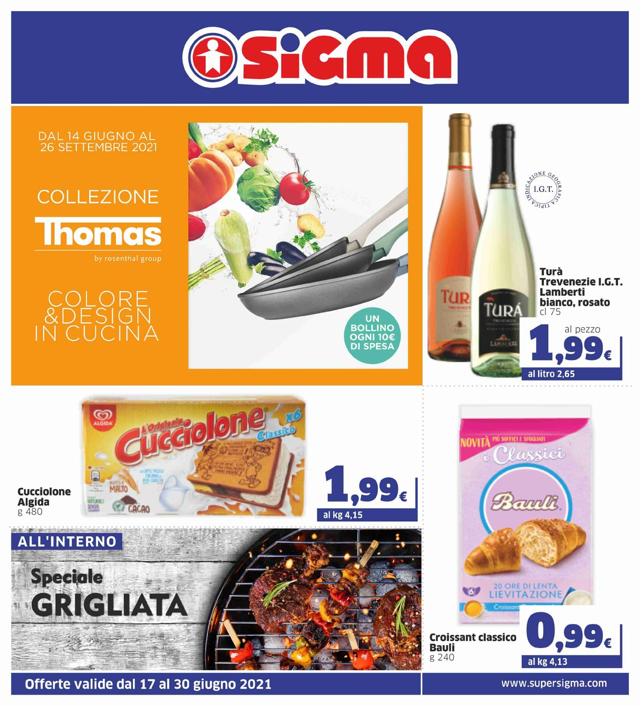 Volantino Sigma - Offerte 17/06-30/06/2021
