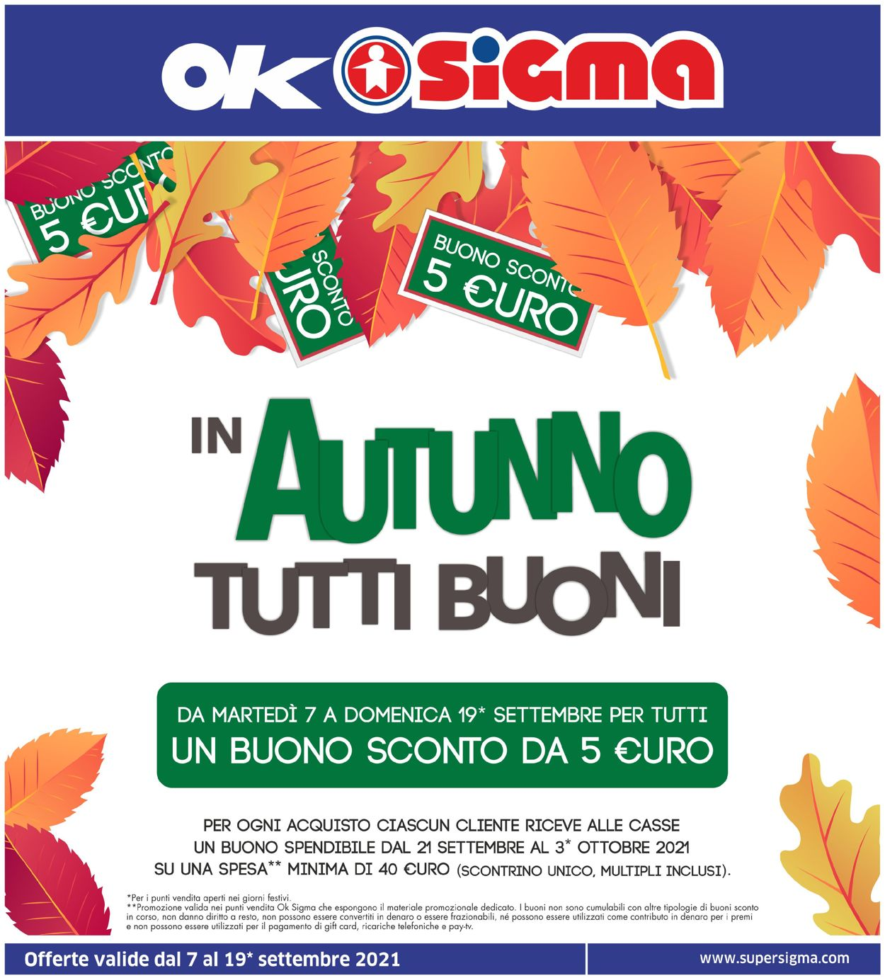 Volantino Sigma - Offerte 07/09-19/09/2021