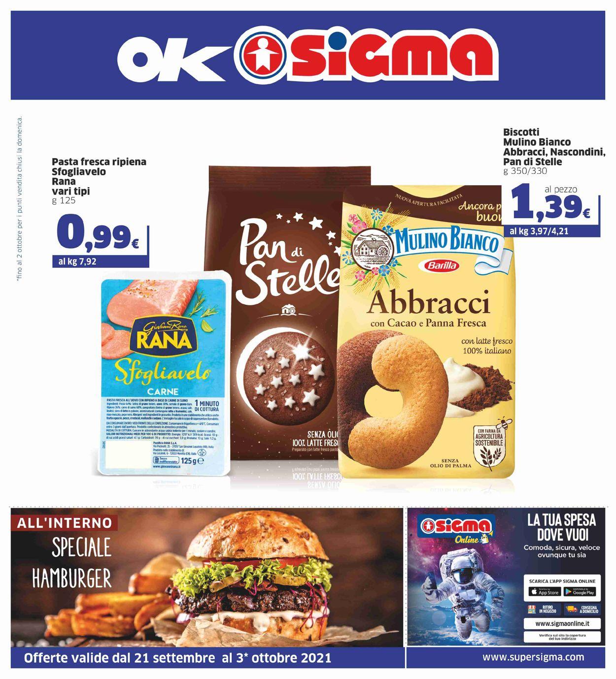 Volantino Sigma - Offerte 21/09-03/10/2021