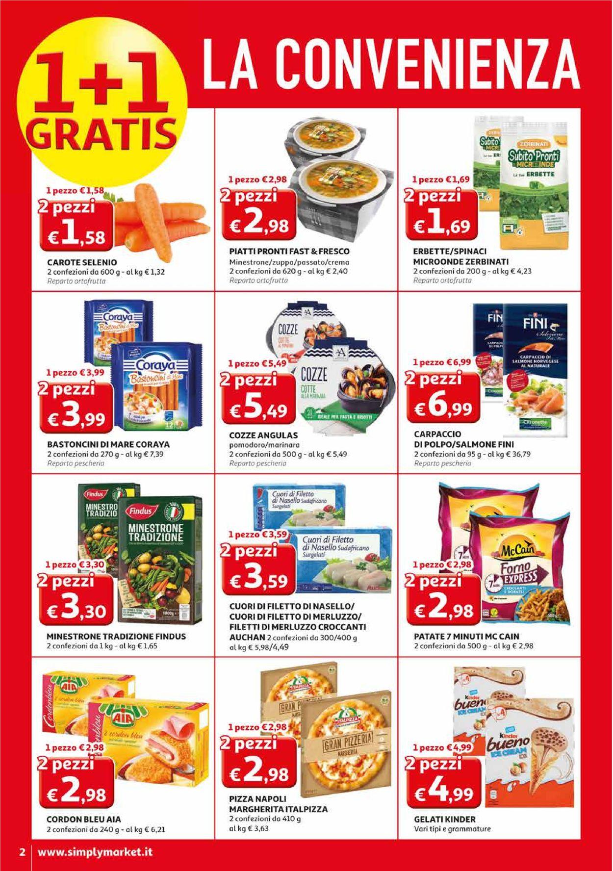 Volantino Simply Market - Offerte 27/02-08/03/2020 (Pagina 2)