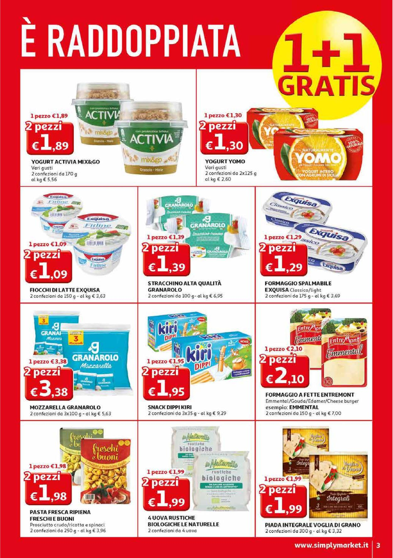 Volantino Simply Market - Offerte 27/02-08/03/2020 (Pagina 3)