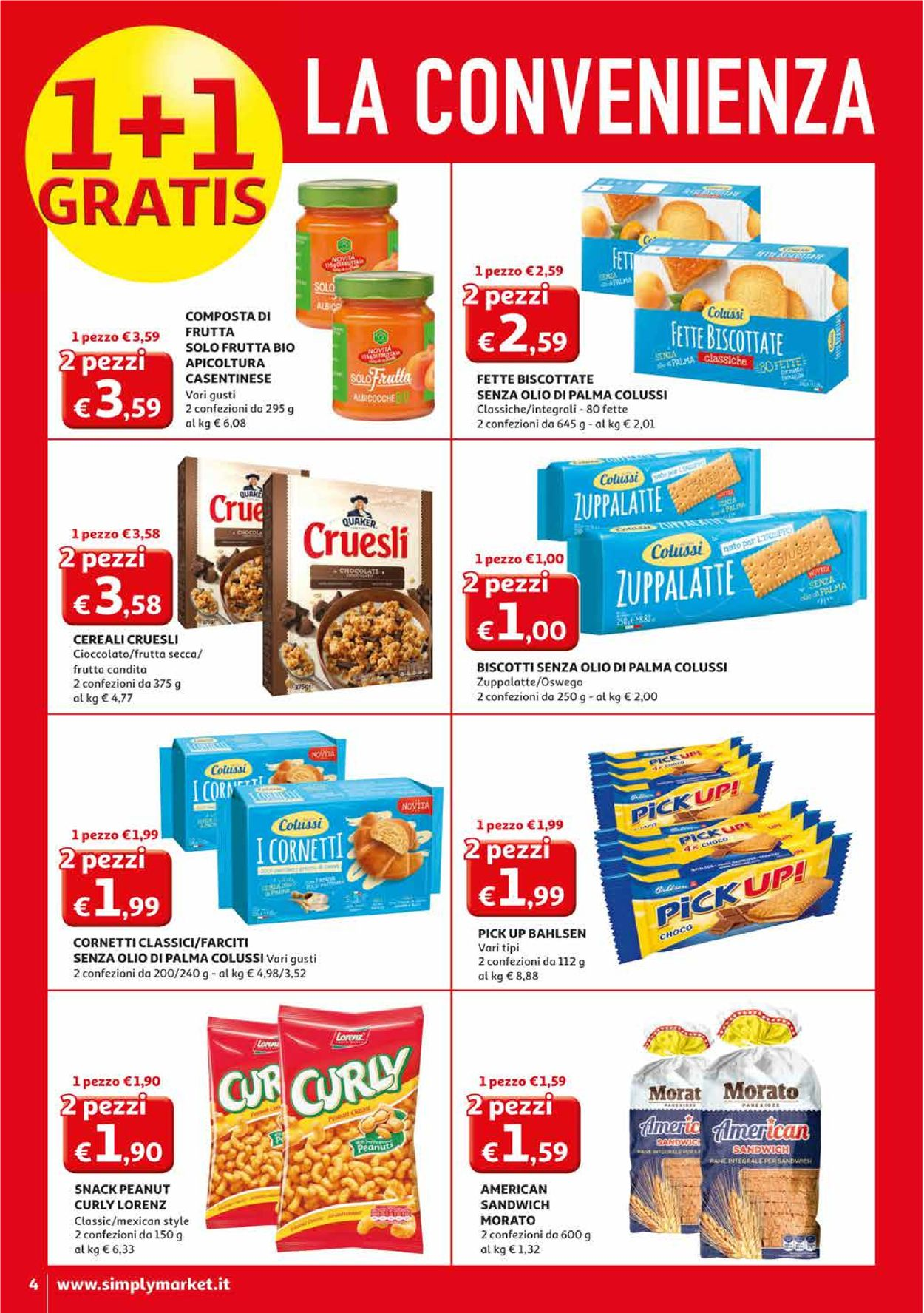 Volantino Simply Market - Offerte 27/02-08/03/2020 (Pagina 4)