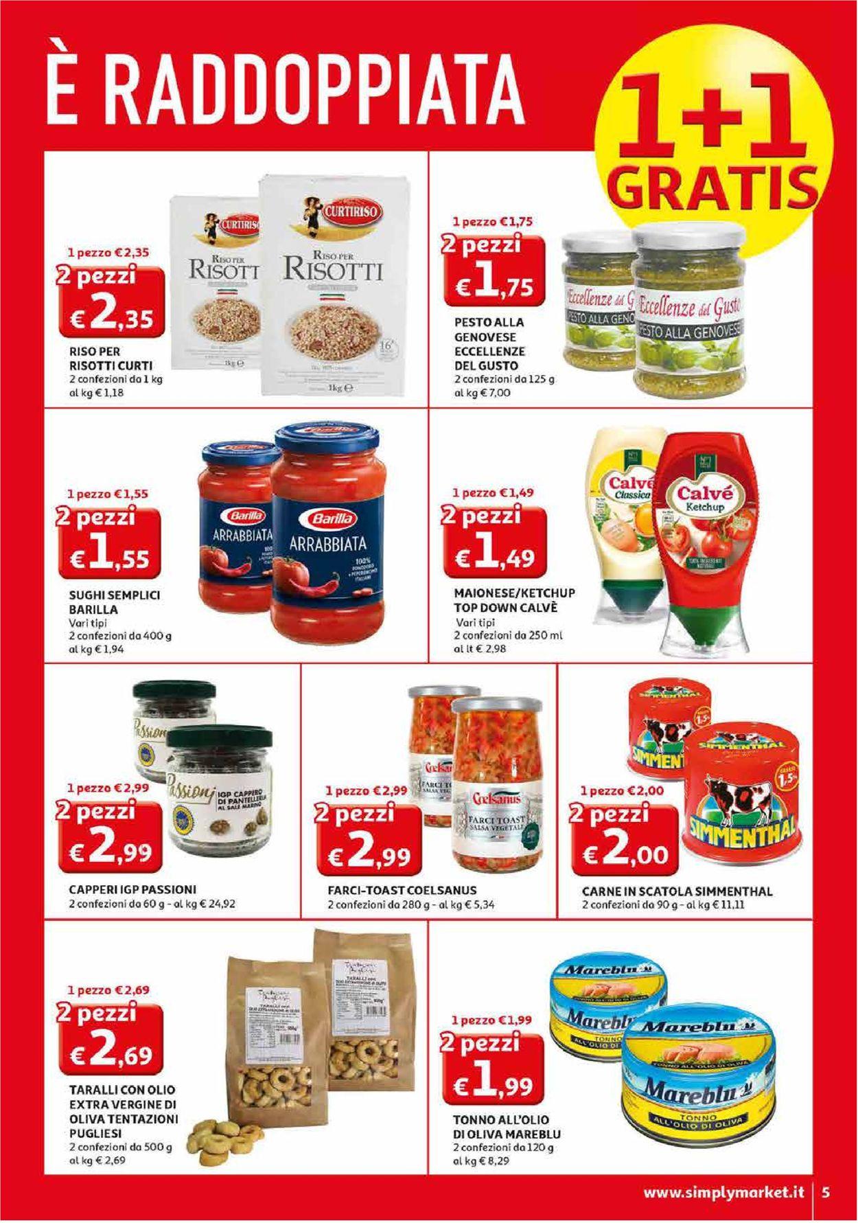 Volantino Simply Market - Offerte 27/02-08/03/2020 (Pagina 5)