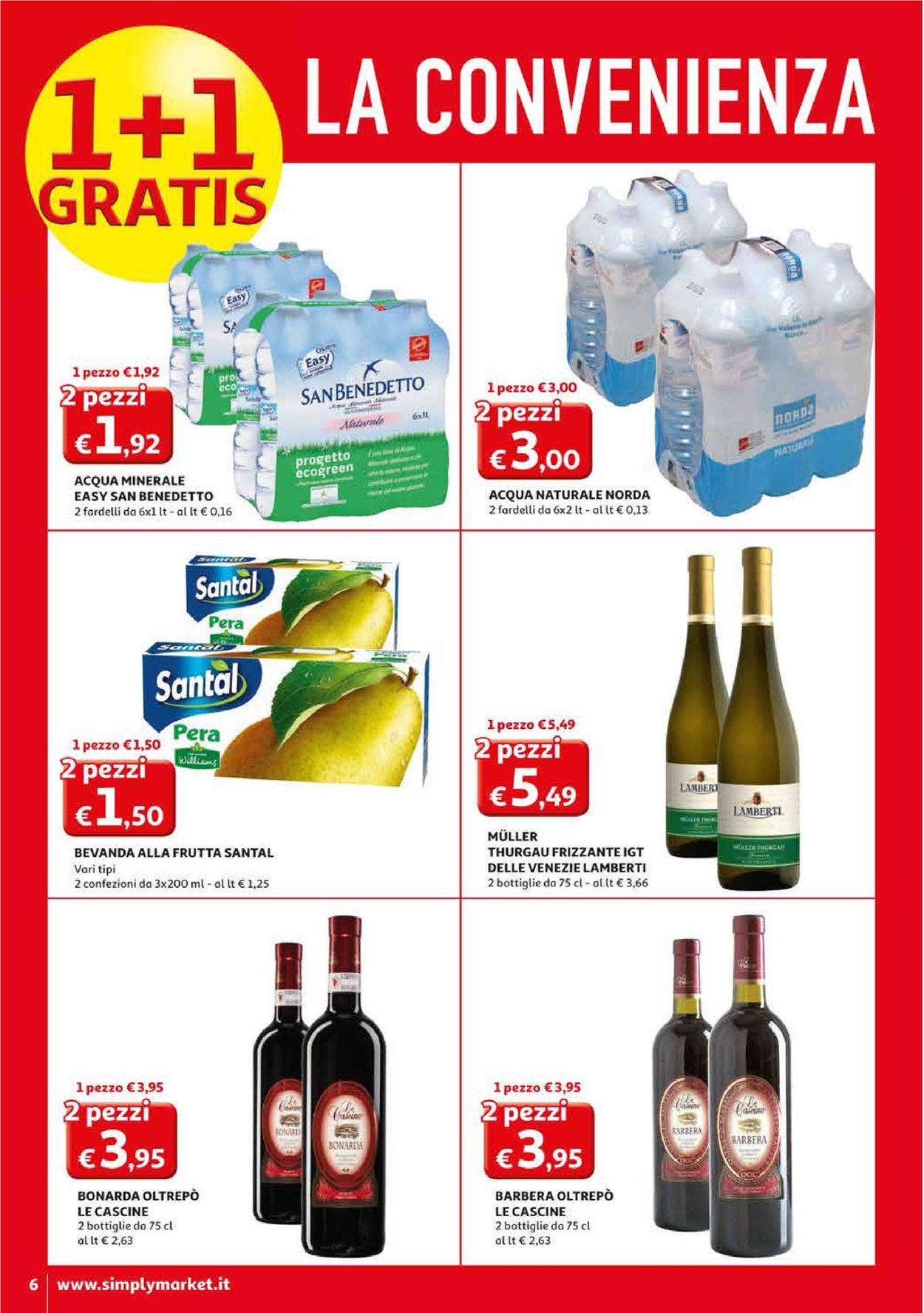 Volantino Simply Market - Offerte 27/02-08/03/2020 (Pagina 6)