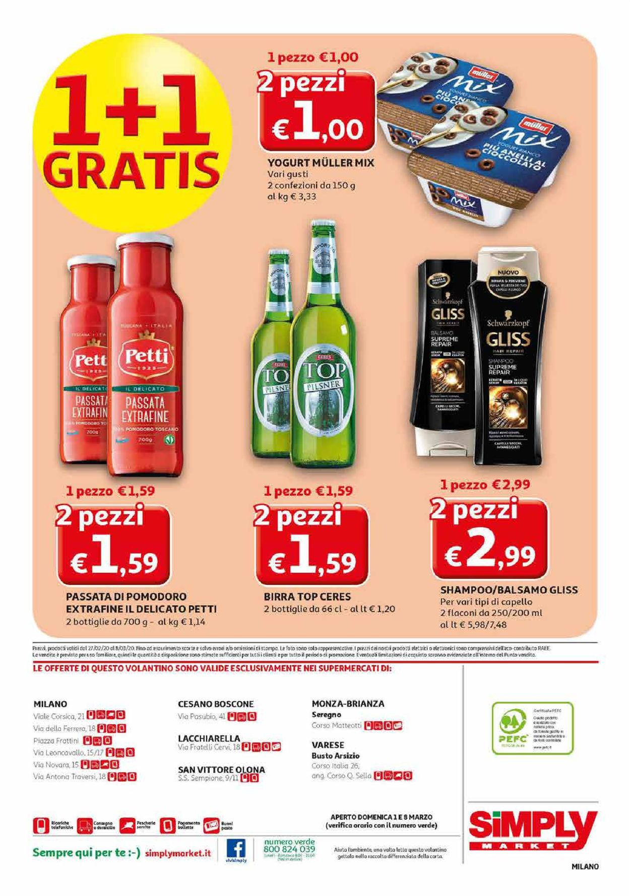 Volantino Simply Market - Offerte 27/02-08/03/2020 (Pagina 20)