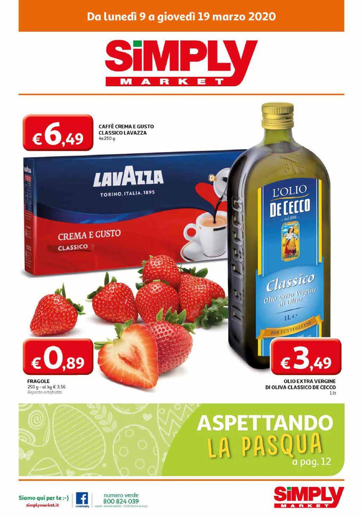 Volantino Simply Market - Offerte 09/03-19/03/2020