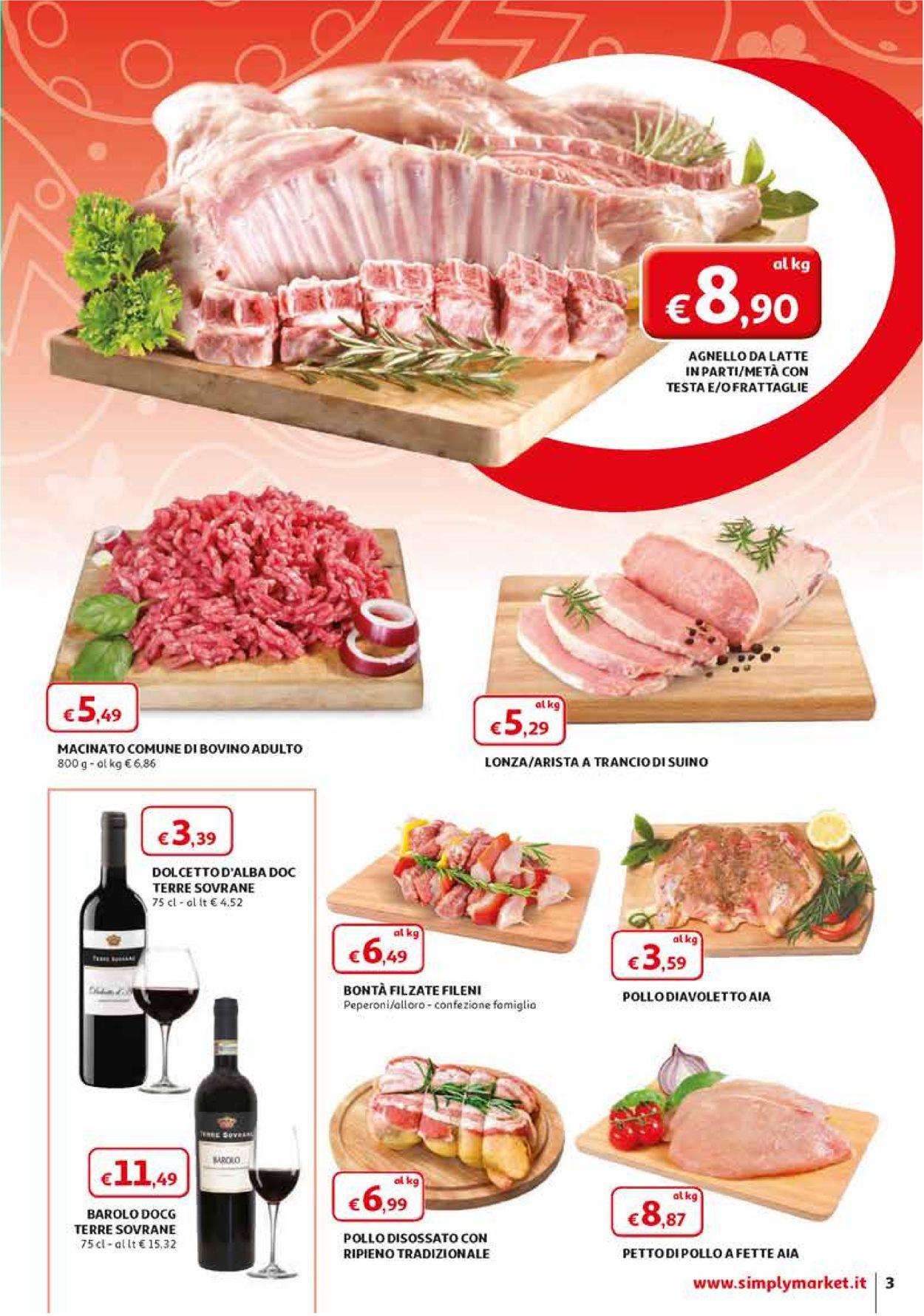 Volantino Simply Market - Offerte 28/03-11/04/2020 (Pagina 3)