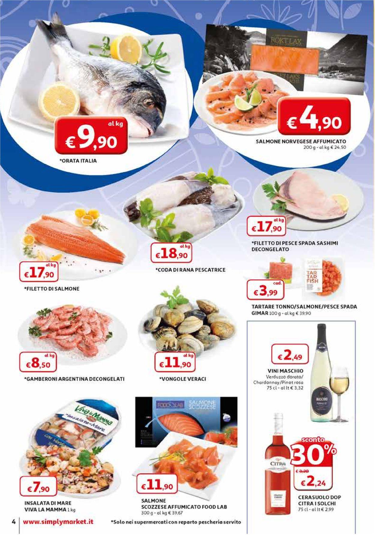 Volantino Simply Market - Offerte 28/03-11/04/2020 (Pagina 4)