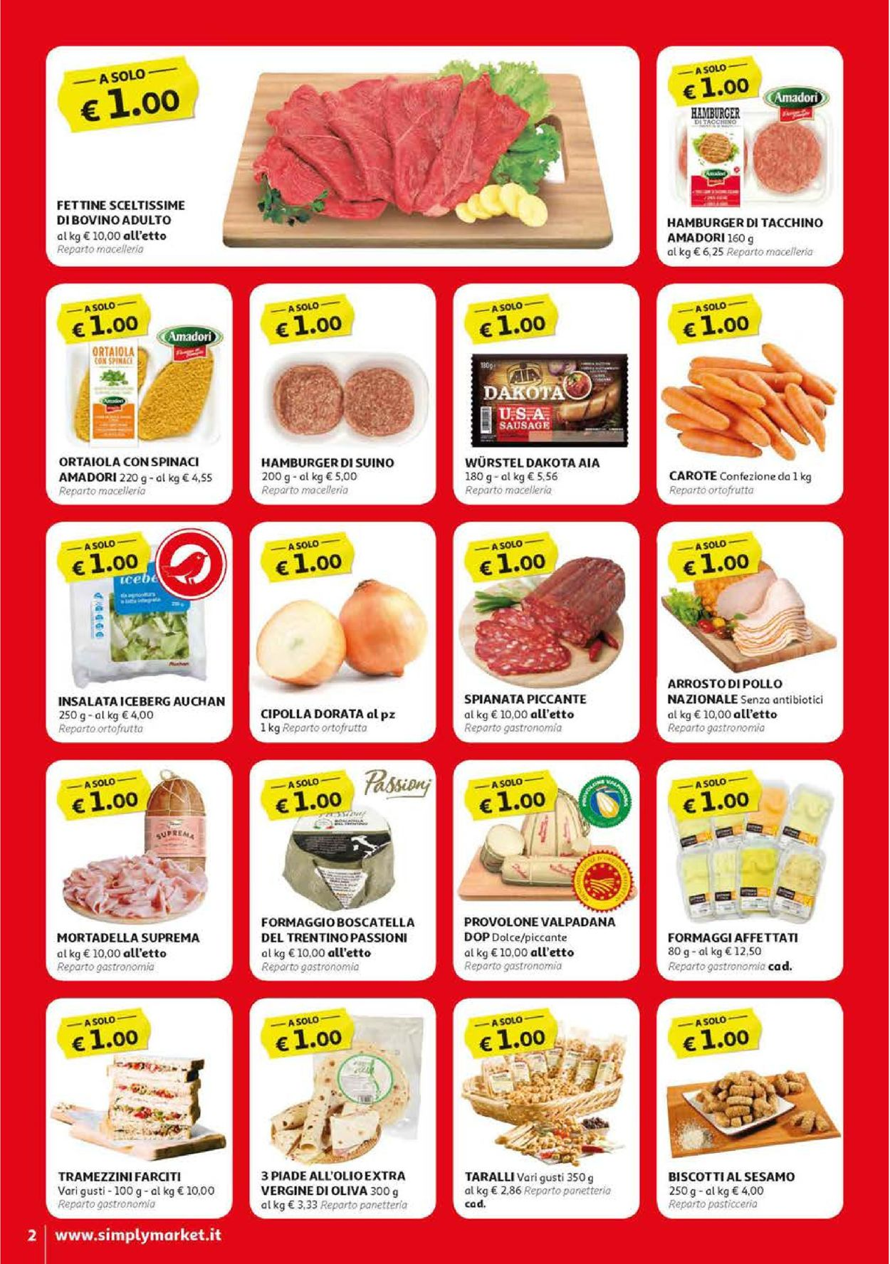Volantino Simply Market - Offerte 12/04-22/04/2020 (Pagina 2)