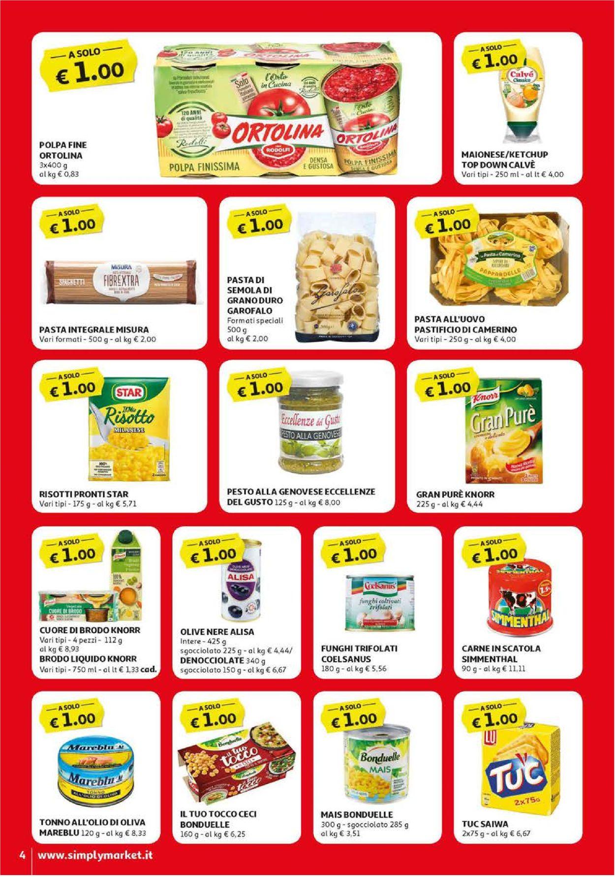 Volantino Simply Market - Offerte 12/04-22/04/2020 (Pagina 4)