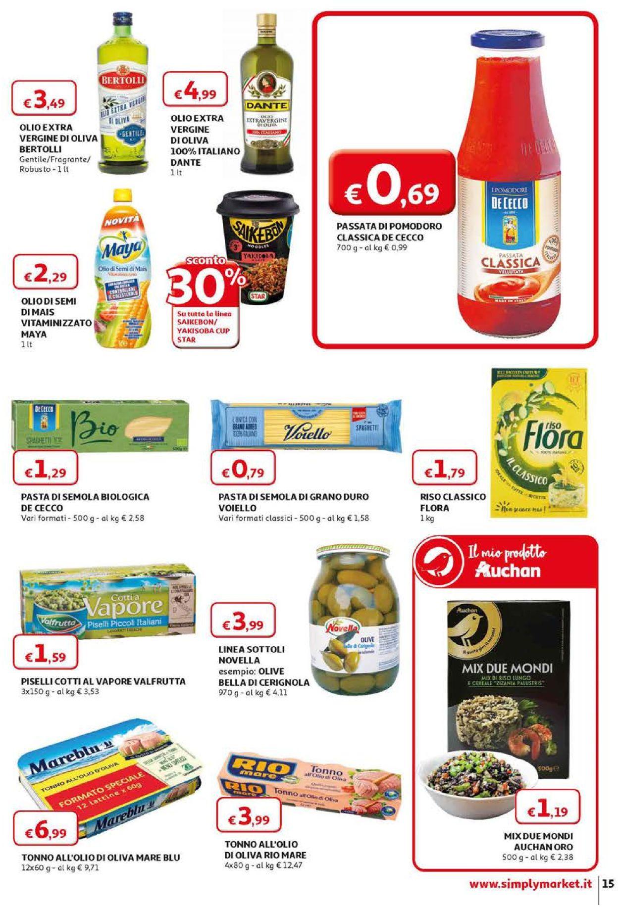 Volantino Simply Market - Offerte 12/04-22/04/2020 (Pagina 15)