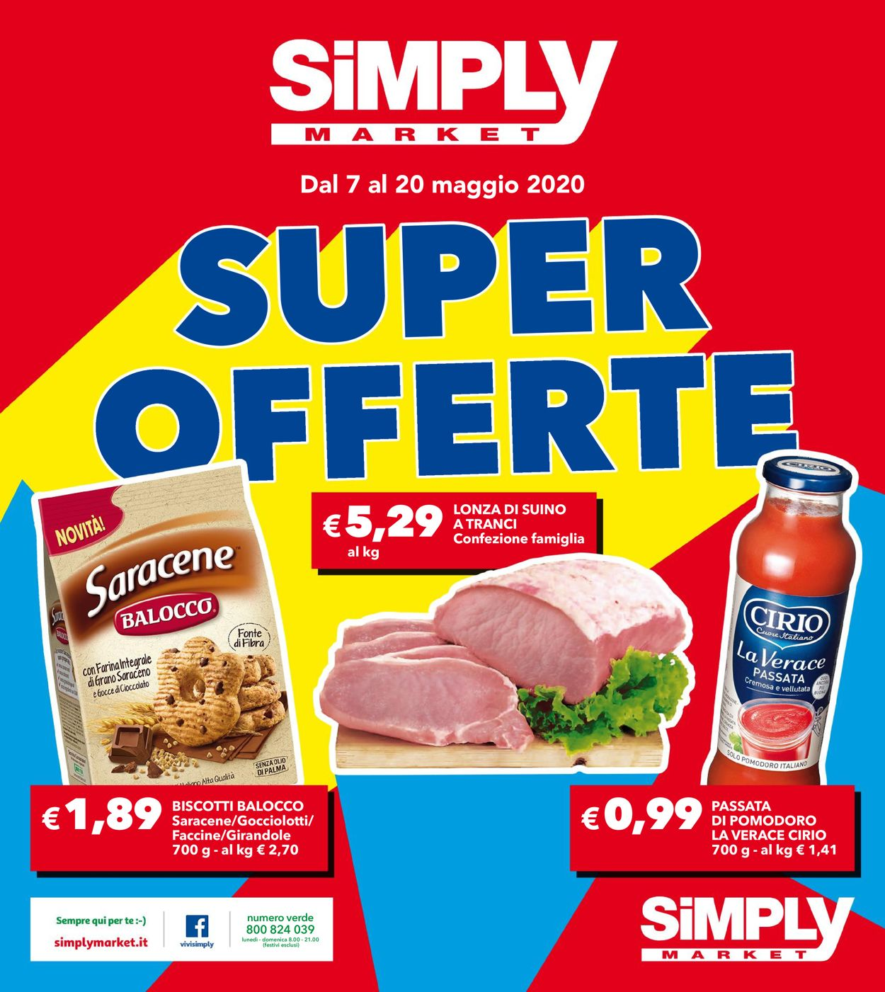 Volantino Simply Market - Offerte 07/05-20/05/2020