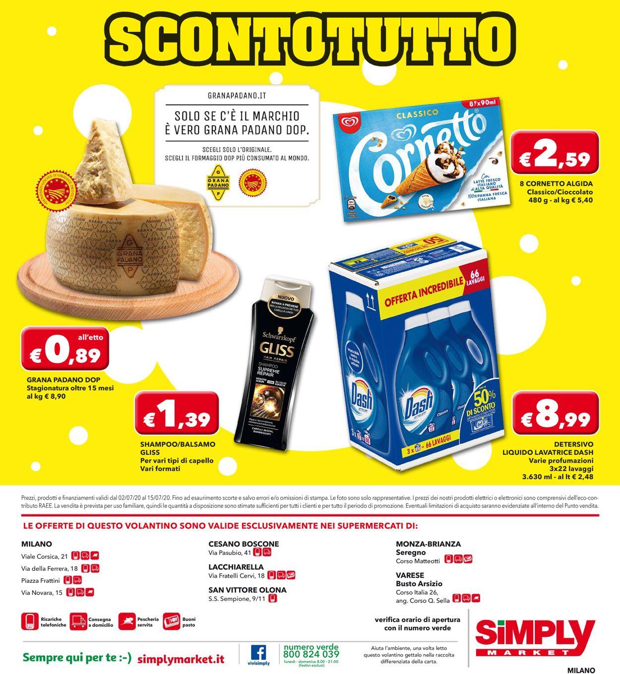 Volantino Simply Market - Offerte 30/06-15/07/2020 (Pagina 20)