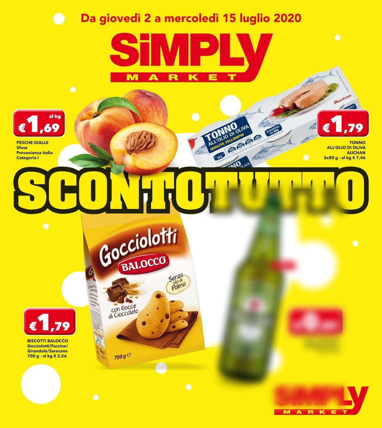 Volantino Simply Market - Offerte 30/06-15/07/2020