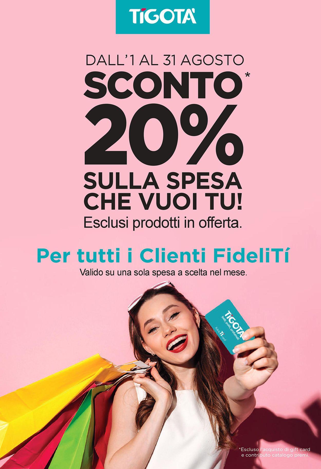 Volantino Tigotà - Offerte 01/08-31/08/2019 (Pagina 3)
