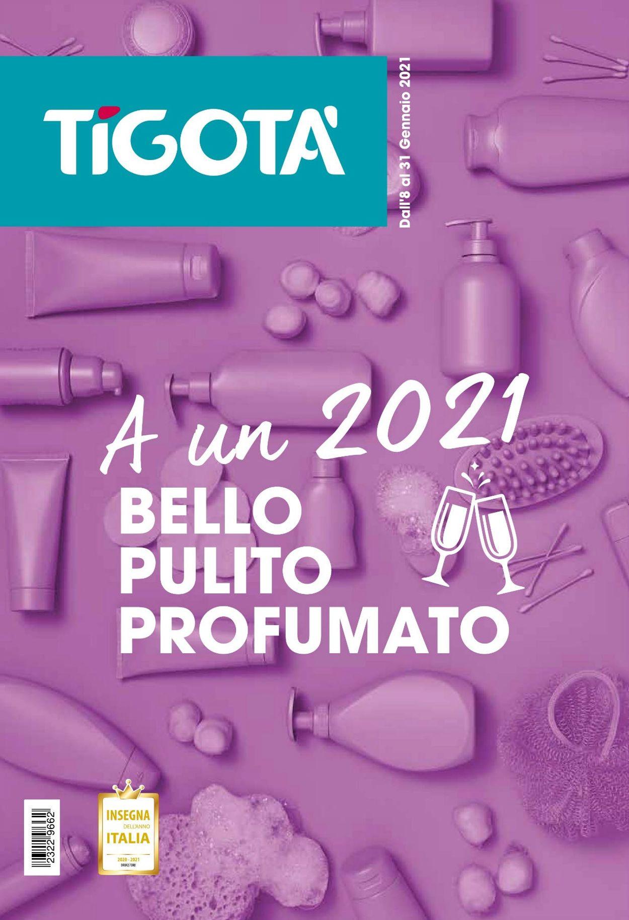 Volantino Tigotà - Offerte 08/01-31/01/2021