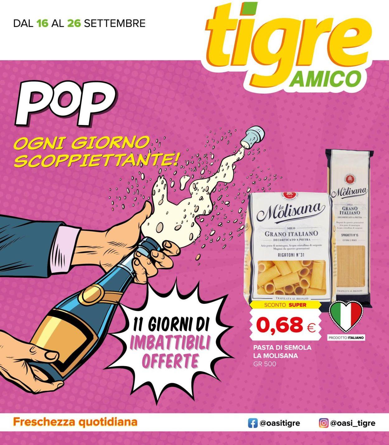 Volantino Tigre - Offerte 16/09-26/09/2020
