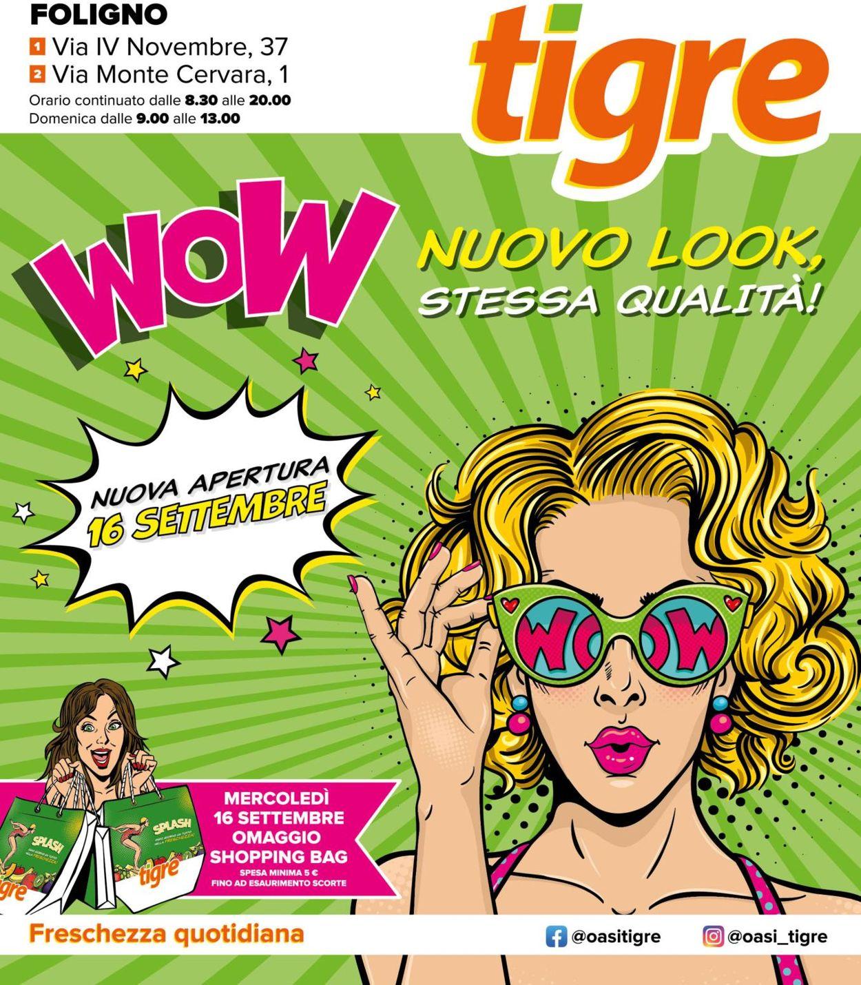 Volantino Tigre - Offerte 16/09-30/09/2020