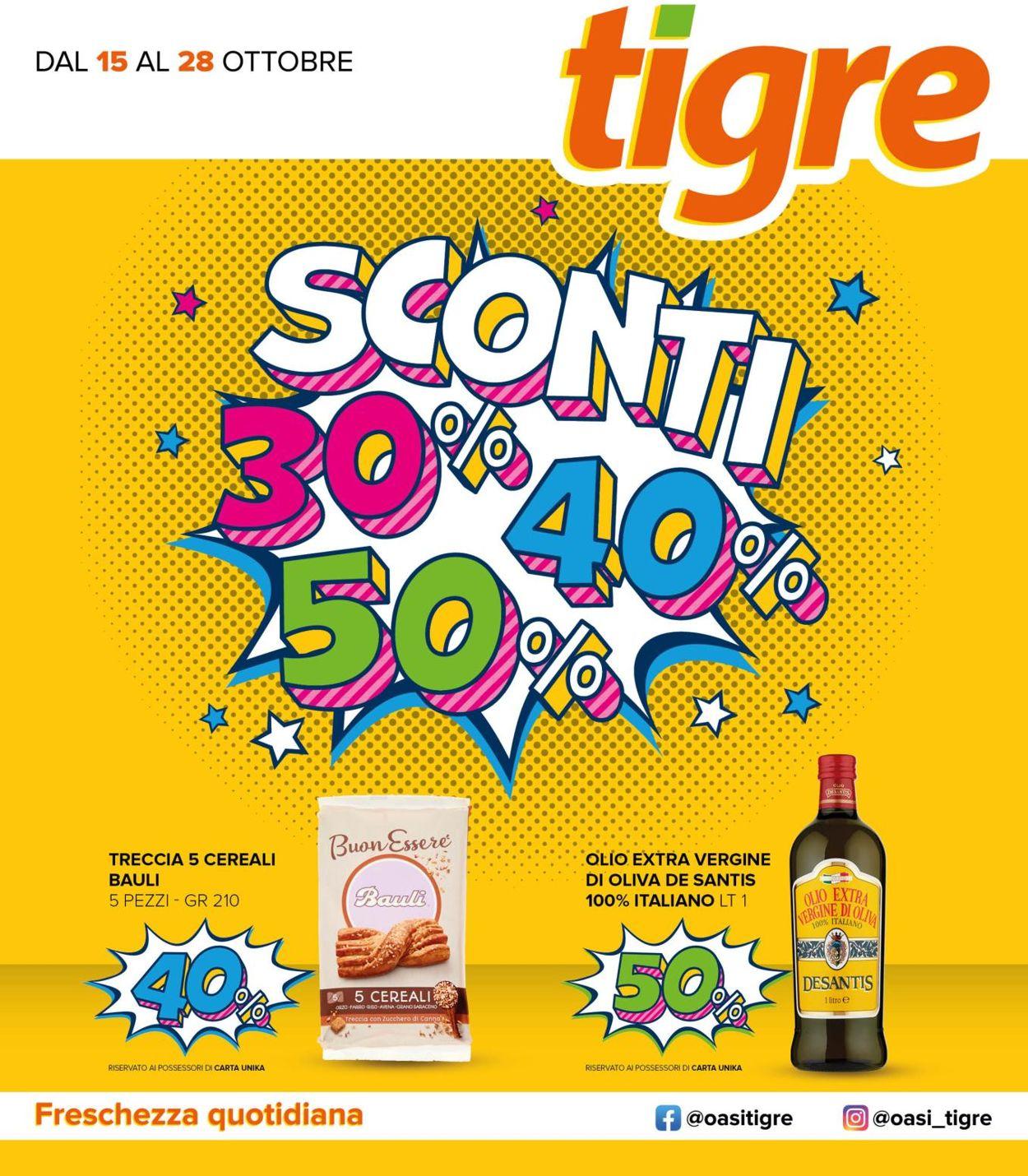 Volantino Tigre - Offerte 15/10-28/10/2020